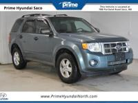 2010 Ford Escape XLT in Steel Blue Metallic! With these