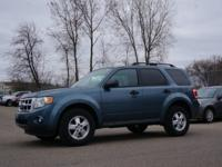 Exterior Color: steel blue, Body: XLT 4dr SUV, Engine: