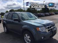 Blue 2010 Ford Escape XLT FWD 6-Speed Automatic 2.5L I4