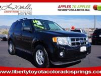 XLT trim. EPA 28 MPG Hwy/22 MPG City! Sunroof,
