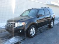 You are looking at a Black, 2010 Ford Escape. This
