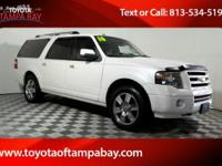 Options:  2010 Ford Expedition El Limited|White|4Wd.
