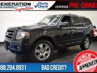 Expedition Limited, 4WD, Black, and 2010 Ford