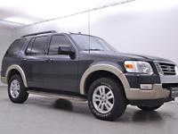 2010 Ford Explorer with a 4.0L V6, Automatic. Gray.