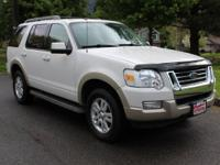 Body Style: SUV Engine: 6 Cyl. Exterior Color: White