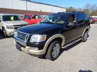 Very well maintained explorer eddie bauer edition. In