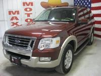 Options Included: N/A2010 Ford Explorer 4WD 4dr Eddie