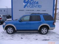 Exterior Color: blue, Body: SUV, Engine: 4.0L V6 12V