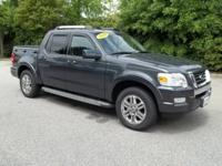 This 2010 Ford Explorer Sport Trac Limited has less