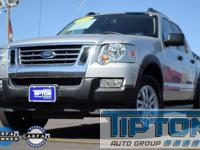 2010 Ford Explorer Sport Trac in Silver exterior and