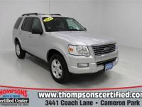 The 2010 Ford Explorer is a great choice if you need a