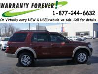 2010 Ford Explorer SUV 4X4 Eddie Bauer Our Location is: