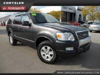 This 2010 Ford Explorer XLT is offered to you for sale