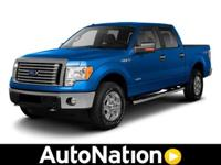 This F-150 Lariat comes equipped with 4 wheel drive,