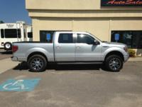 Options:  2010 Ford F150 Fx2|Silver Or