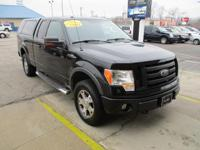 Options:  2010 Ford F150 4Wd Supercab Fx4|Black|4Wd|V8
