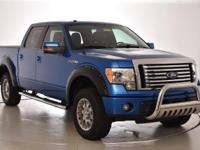 Recent Arrival! Clean CARFAX. This 2010 Ford F-150 FX4