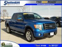 Options:  2010 Ford F-150 Fx4|4X4 Fx4 4Dr Supercrew