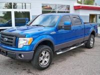 Exterior Color: blue, Body: Pickup, Engine: V8 5.40L,