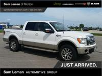 2010 Ford F-150 King Ranch in Oxford White vehicle