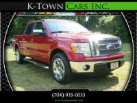 Options:  2010 Ford F150 Supercrew Cab Lariat Pickup 4D