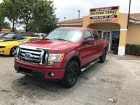 Options:  2010 Ford F-150 Lariat 4X4 4Dr Supercrew