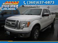 Lariat trim. Heated Leather Seats, iPod/MP3 Input,