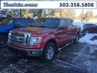 WOW!!! Check out this. 2010 Ford F-150 Lariat Red 5.4L