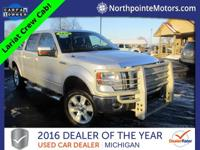 Options:  2010 Ford F-150 Lariat Silver 2010 Ford F-150