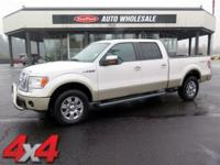 Solid and stately, this 2010 Ford F-150 will envelope