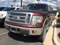 Look at this 2010 Ford F-150 Lariat. Its Automatic