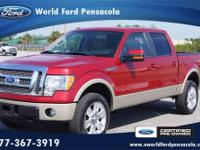 World Ford Pensacola presents this 2010 FORD F-150 PK