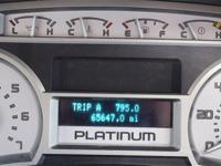 2010 Ford F-150 Platinum. 4WD. Flex Fuel! Crew Cab! A