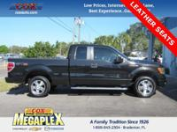 This 2010 Ford F-150 STX in Tuxedo Black is well