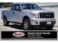 Scores 18 Highway MPG and 14 City MPG! This Ford F-150