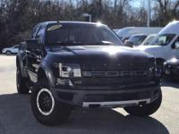 2010 Ford F-150 SVT Raptor Black  Clean CARFAX. Awards: