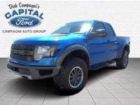 Check out this 2010 Ford F-150 SVT Raptor. Its