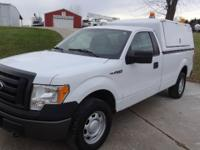 2010 F150 XL 4x4 with work camper top. 4.6 V8 auto.