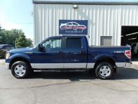 Our 2010 Ford F-150 XLT SuperCrew 4X4 can be classified