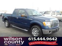 2010 Ford F-150 XLT 4.6L V8 EFI 24V Blue Flame Metallic