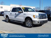 Options:  2010 Ford F-150 Xlt|White/Unknown|V8 4.6L