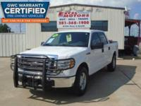 This 2010 Ford F-150 XLT Crew Cab pickup is in very