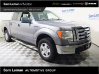 2010 Ford F-150 XLT 4D SuperCrew 4X4 in Sterling Gray