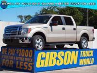WWW.GIBSONTRUCKWORLD.COM 2010 Ford F150 XLT Crew Cab