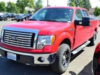 Exterior Color: vermillion red, Body: Pickup, Fuel: