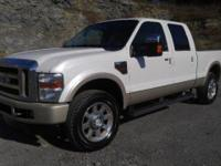 2010 Ford F-250 FX4 King Ranch Crew Cab 4x4. This truck