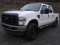 2010 Ford F-250 XL Super Duty Crew Cab 4x4. This truck