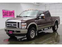 ONE OWNER!!!  DIESEL!!!!  KING RANCH, 55K ORIGINAL
