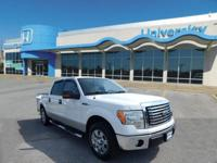 CARFAX One-Owner. Clean CARFAX. WHITE 2010 Ford F-150