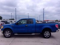 This 2010 Ford F-50 is beautiful blue with running